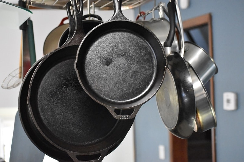 Skillets and frying pans