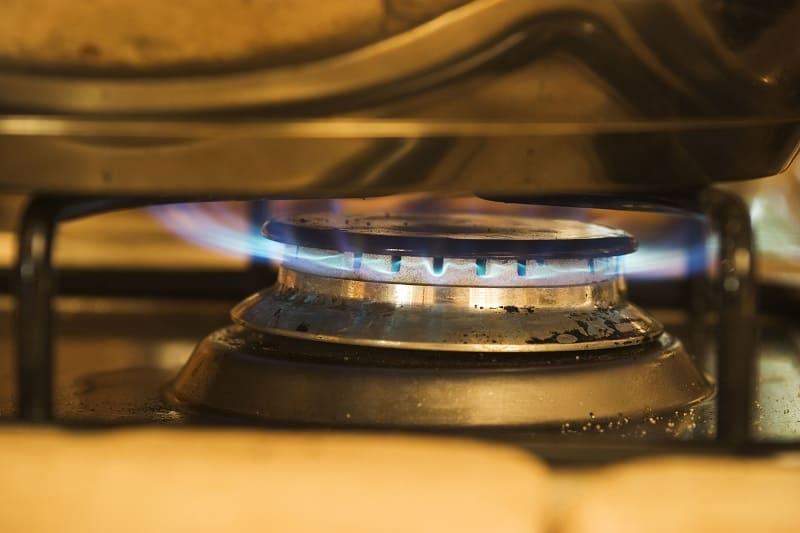 Gas burner hob