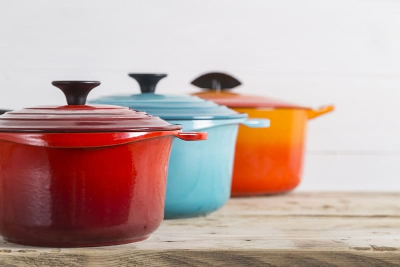 Cast Iron Casserole Dishes
