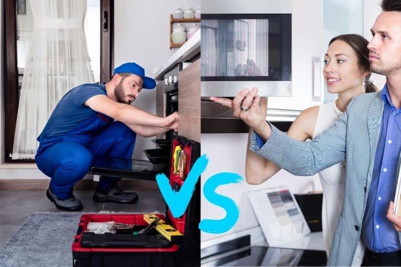 Mini Oven vs Standard Oven Installation Cost