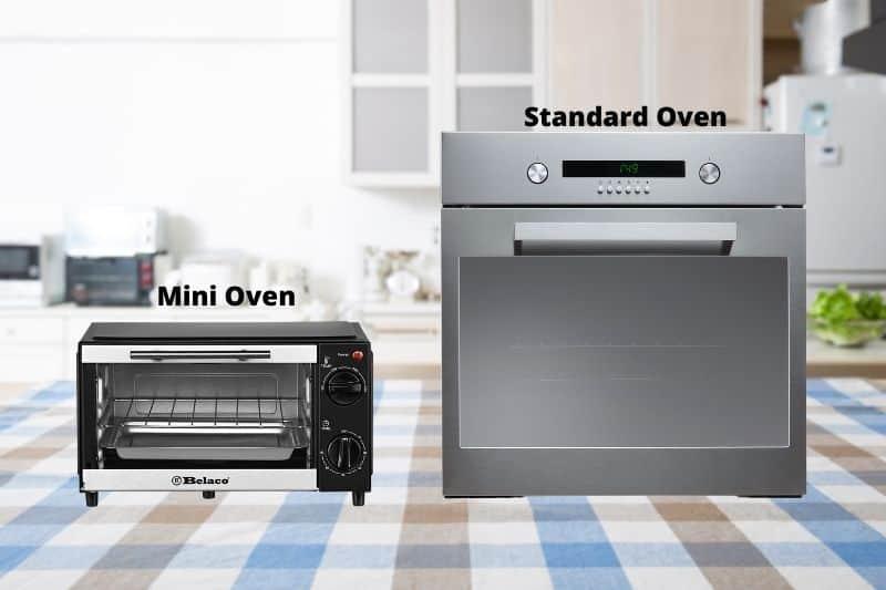 Mini Oven vs Standard Oven