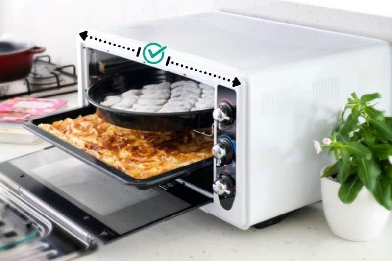 Mini Ovens are Spacious