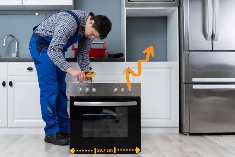 Standard Oven Width