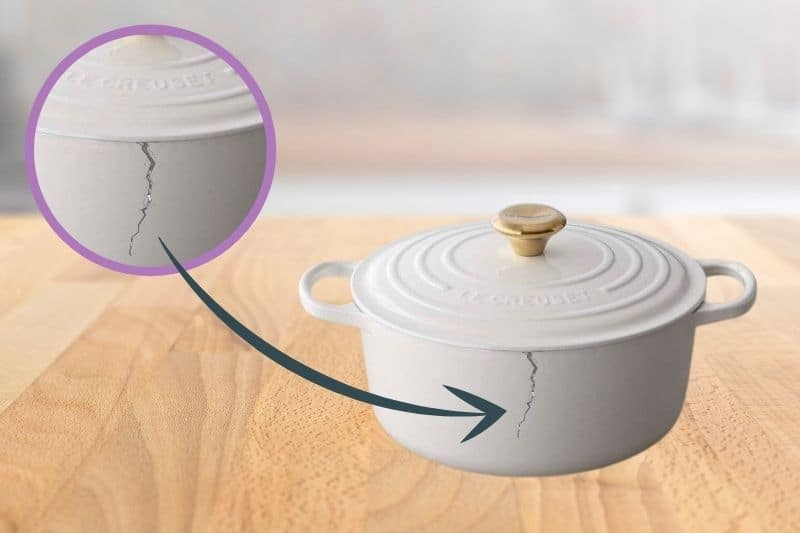Can You Repair Cracked Le Creuset Cookware