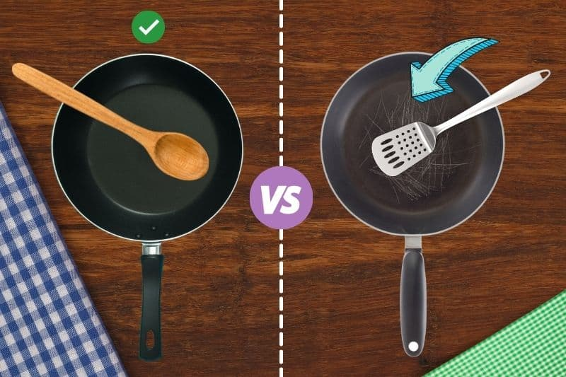 Wooden Spoons are Gentle on Pans