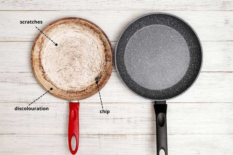 Signs That a Non-Stick Pan Needs to Be Replaced
